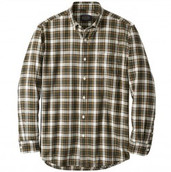 Pendleton Merino Wool Sir Pendleton Shirt - Green/Gold