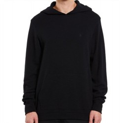 Volcom Lightweight Thermal Hooded Pullover - Black