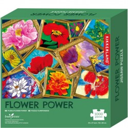 Kikkerland 1000 PC Puzzle - Flower Power