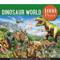 Peter Pauper 1000 pc Puzzle - Dinosaur World