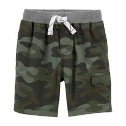 Toddler Boys Carters Camo Cargo Pull-On Shorts