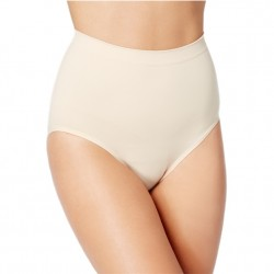 Bali Seamless Control Briefs 2 Pack - Soft Taupe