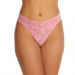 Hanky Panky Original Rise Thong - Meadow Rose