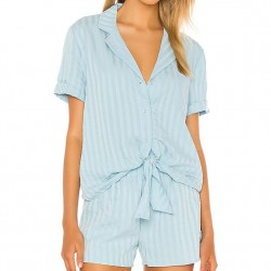 Splendid Short Pajama Set - Sea