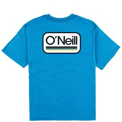 Boys 8 to 20 O'Neill Short Sleeve T - Headquarters in Bright Blue