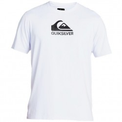 Quiksilver UPF 50 Short Sleeve Surf T - White