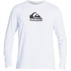 Quiksilver UPF 50 Long Sleeve Surf T - White
