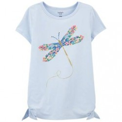4 to 6X Girls Carters Dragonfly Jersey Tee