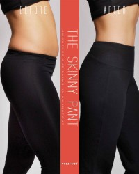 "Teez-Her Stretch Knit ""Skinny"" Capri - Black"