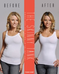 Teez-Her Shaper Tank with Cotton Finish