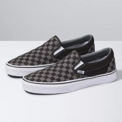Vans Slip On - Black/Pewter Check