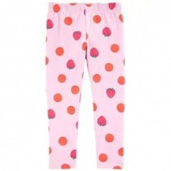 4 to 6X Girls Carters Strawberry Capri Leggings