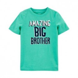 4 to 7 Boys Carters Big Bro Jersey Tee