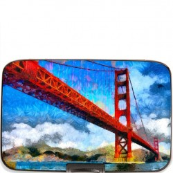 Armoured Wallet Case - Golden Gate