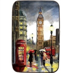 Armoured Wallet Case - London