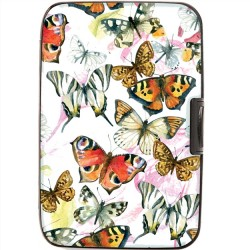 Armoured Wallet Case - Butterflies