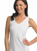 Jockey Staycool Sleeveless, Reversible Crew Neck to V-Neck Tank Style #2094