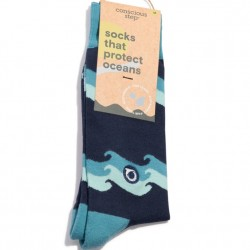 Conscious Steps Socks - Protect the Oceans