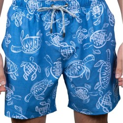 Vintage Summer Swimsuit - Turtles