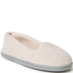 Dearfoam Chenille Slipper - Dusty Pink