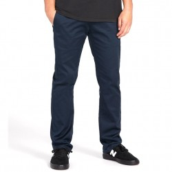 Volcom Modern Fit Chino Pant with Stretch - Navy