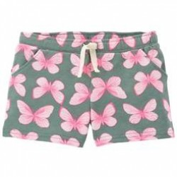 Toddler Girls Carters Butterfly Pull-On Shorts