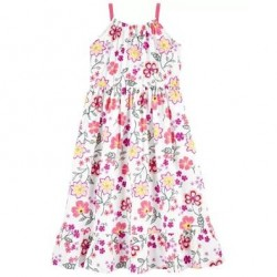 4 to 6x Girls Carters Floral Boho Tiered Dress