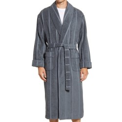 Ultra Lux High Twist Cotton Robe - Charcoal