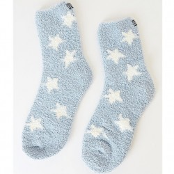 Splendid Cozy Socks - Blue Stars