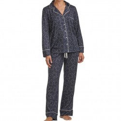 Splendid Pillow Soft Pajama Set - Navy Stars