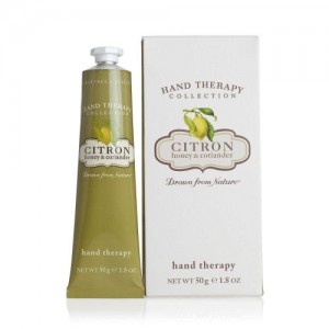 CRABTREE & EVELYN CITRON, HONEY & CORIANDER ULTRA-MOISTURISING HAND THERAPY PURSE SIZE