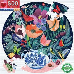 Eeboo 500 pc Puzzles - Still Life with Flowers
