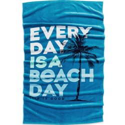 Life is Good Towel - Every Day is Beach Day