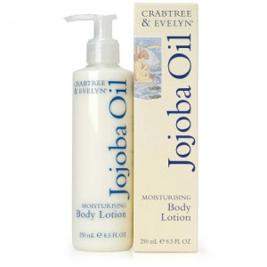 CRABTREE & EVELYN JOJOBA OIL MOISTURISING BODY LOTION