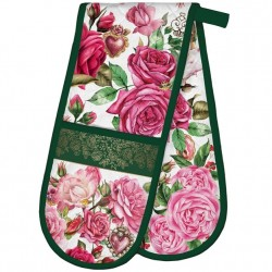 Michel Design Works Royal Rose - Double Oven Glove