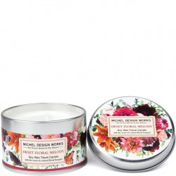 Michel Design Works Sweet Floral Melody - Travel Candle