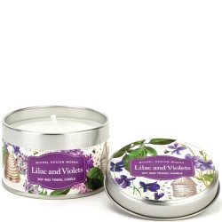 Michel Design Works Lilac and Violets - Travel Candle