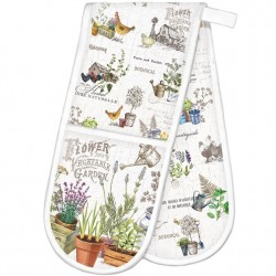 Michel Design Works Country Life - Double Oven Glove