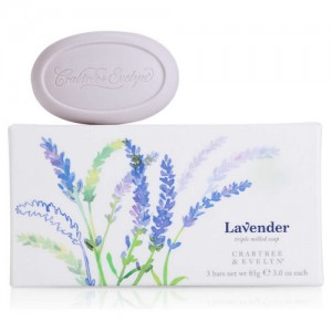 CRABTREE & EVELYN LAVENDER TRIPLE-MILLED SOAP