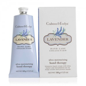 CRABTREE & EVELYN LAVENDER ULTRA-MOISTURISING HAND THERAPY 100g