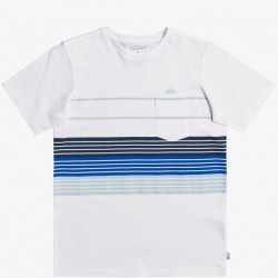 Boys 8 to 20 Quiksilver Short Sleeve T-Shirt - White