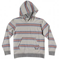 Boys 8 to 20 Quiksilver Hooded Pullover - Antique Stripe