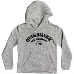 Boys 8 to 20 Quiksilver Hooded Pullover - Grey Heather
