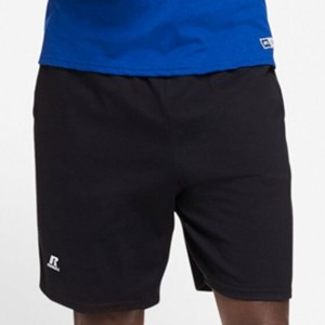 Russell Cotton Jersey Shorts - Black