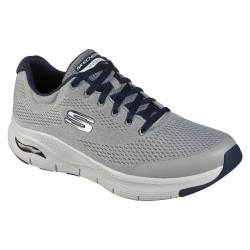 Skechers Arch Fit - Gray / Navy